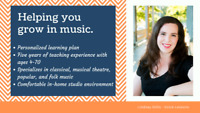 Private Singing Lessons for all ages