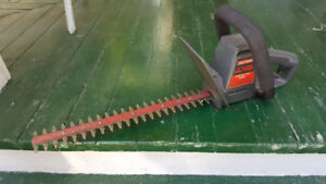 """Sears Craftsmen 17"""" Electric Hedge Trimmer"""