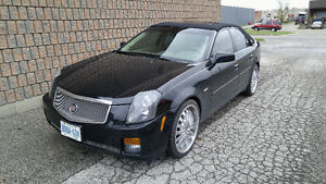 "2006 CADILLAC CTS JET BLACK "" TRICKED OUT """