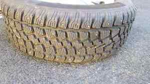 Studded winter tires on rims (set of 4) St. John's Newfoundland image 3