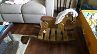 solid wood, well made Horse rocker