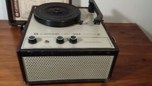 Califone 1410k  turntable vintage  - Portatif -