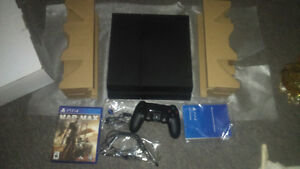 New in box ps4 1 controller and game madmax