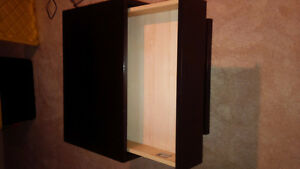 PAIR OF END TABLES OR NITE TABLES EXPRESSO FINISH Kitchener / Waterloo Kitchener Area image 4