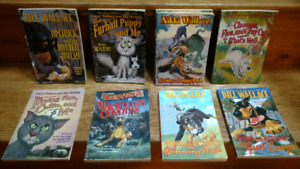 11 Bill/Carol/Nikki Wallace illustrated chapter books