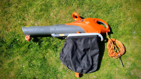 Flymo Scirocco 3000 Garden leaf Blower / Vacuum