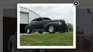 1941 Chevy Coupe Street Rod Project