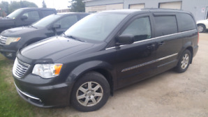 2011 Chrysler Town & Country van.