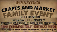 VENDORS; MERCHANTS, CRAFTS, ETC., WANTED; FAMILY DAY EVENT
