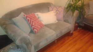 Plush couch and love seat set St. John's Newfoundland image 2