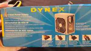 New DYNEX 400 watt power supply  Belleville Belleville Area image 2