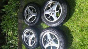 Selling Four Tires with Rims