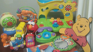 Baby toy lot- over 80 items