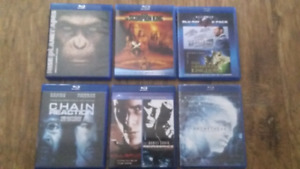 Blu-rays! 8 movies for $20
