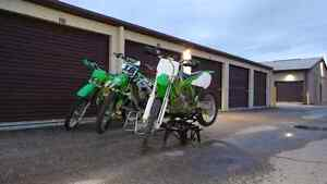 Looking for 99-01 KX250 parts.