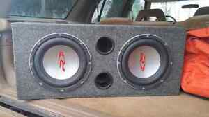 "2 10"" Alpine Type R's 1000Watts Each"