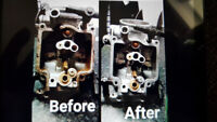 ULTRASONIC CARBURETOR CLEANING SERVICES