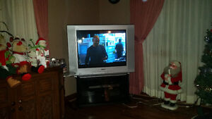 "32"" Sony tv and stand"