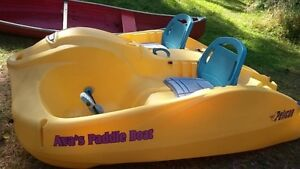 Paddle boat and Canoe for sale