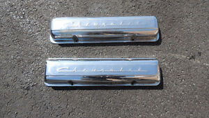 265 283 327 1955 56 56 58 59 staggered  hole chev valve covers