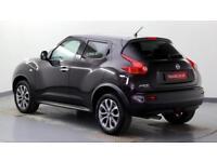 2012 Nissan Juke 1.6 16v Shiro Petrol black Manual