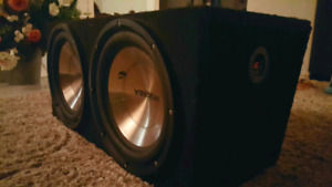 "2 12"" 600 watts power bass Insignia woofer for Sale"