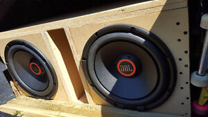JBL s3 1224 subs with a gtr-1001 amplifier