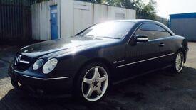 2004 Mercedes CL55 AMG V8 Kompressor 500BHP,like E55,sl55 px/swap spares or repair