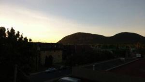 2 1/2 à louer Beloeil. Superbe vue sur la montagne!