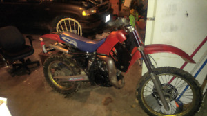 1985 honda cr 125 for trade