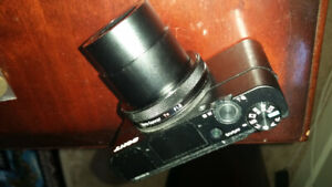Minimal shutter count on this great condition; SONY RX100IV