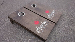 Beanbag Toss Game, Hand Crafted in Canada Cambridge Kitchener Area image 1