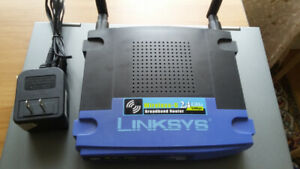 Linksys WRT54G Wireless-G Router