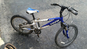 Kids 20 inch mountain bike - Trek MT60