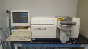 AAS Spectrometer with Graphite Furnace plus 20 lamps -Analytical