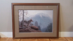 Misty Lookout Print by Richard Burns