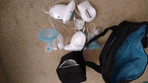 Free double electric breast pump