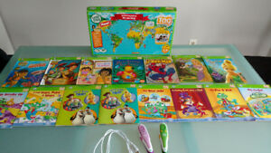 Leapfrog Tag Pen Reading Systems + interactive books and map