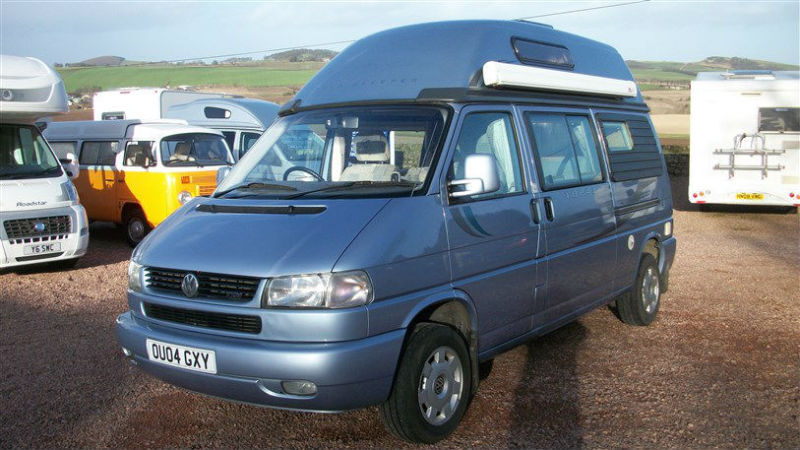 autosleepers topaz 2004 2 berth vw t4 2 5 tdi in. Black Bedroom Furniture Sets. Home Design Ideas