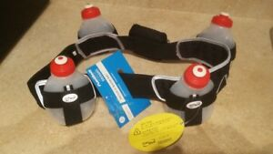 BRAND NEW - FOR RUNNERS - HELIUM 4 BOTTLE BELT