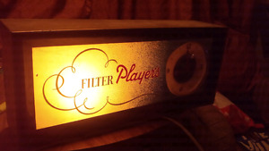 """Players vintage sign """"rare"""".  $200 or best offer"""