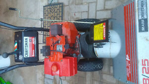 Craftsman 8/25 two-stage snowblower in great working condition