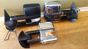 New Style GM Tow Mirrors for 07-13 Trucks - Brand New
