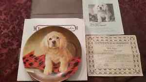 KNOWLES COLLECTABLE  DOG PLATES $8 EACH London Ontario image 1