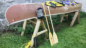 Canoe: 16' with paddles, life jackets and more.