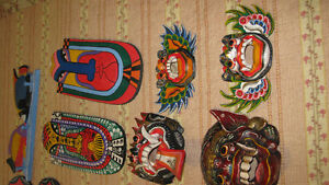 Hand made exotic wooden Handicrafts from Bali and Thailand