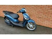 New Piaggio Liberty 125 I-Get E5 Blue, black or White 2 years 0% Credit Instore