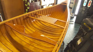 Rare Ceder Strip Canoe