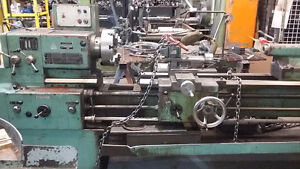 Tos lathe 18 x 76, 220 volt 3 phase , we sell new & used machine