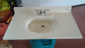 bathroom sink / vanity top